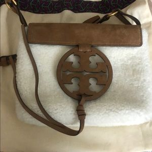 Tory Burch Miller shearling crossbody